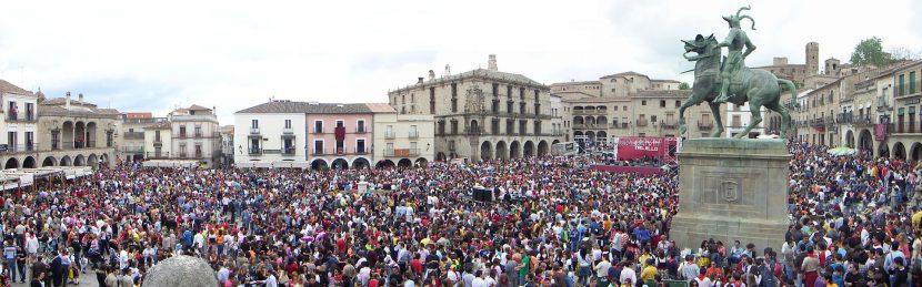 El Chíviri Fiesta de Interés Turístico Regional en Trujillo (Cáceres)