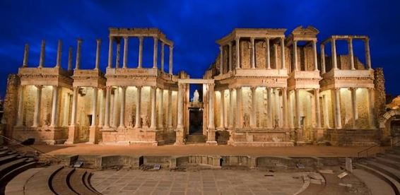 Teatro Romano de Mérida Turismo Extremadura